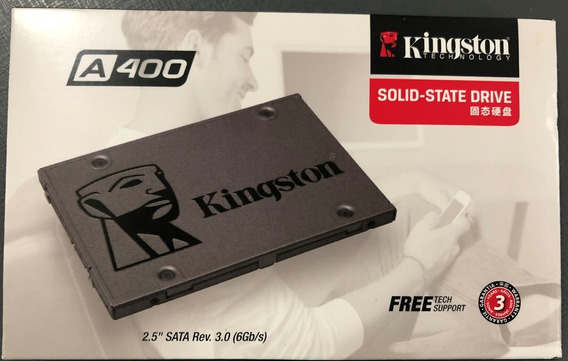 Ssd Kingston A400 2.5 240gb Sata I I I 320mb Sa400s37/240gb