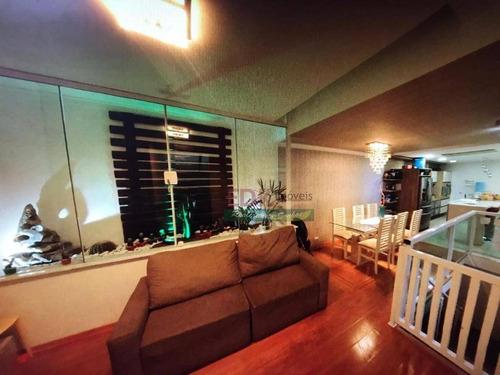 Imagem 1 de 30 de Casa Com 3 Dormitórios À Venda, 300 M² Por R$ 440.000,00 - Jardim Santa Cristina - Santo André/sp - Ca4371