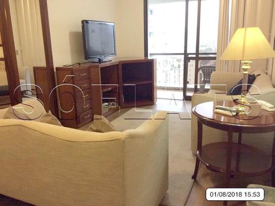 Flat No Itaim Bibi 2 Dorms 75m² - Sf5267