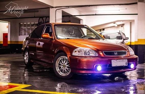 Honda Civic Ex Vtec Raro Completo