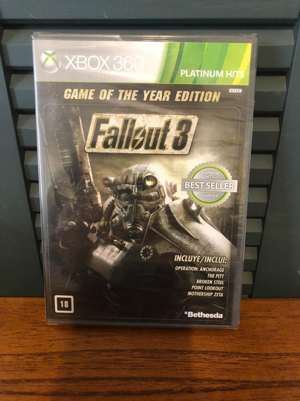 Fallout 3 Game Of The Year Edition Xbox 360 Midia Fisica