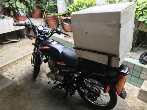 Suzuki Ax4 Usada +parrilla+cajón Para Domicilio Desmotables