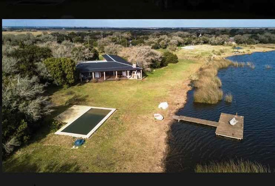 Chacra En Pinamar Con Laguna Privada Y Pileta Para Casa 15