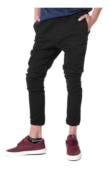 Pantalon Chino Vicus B Plain Negro