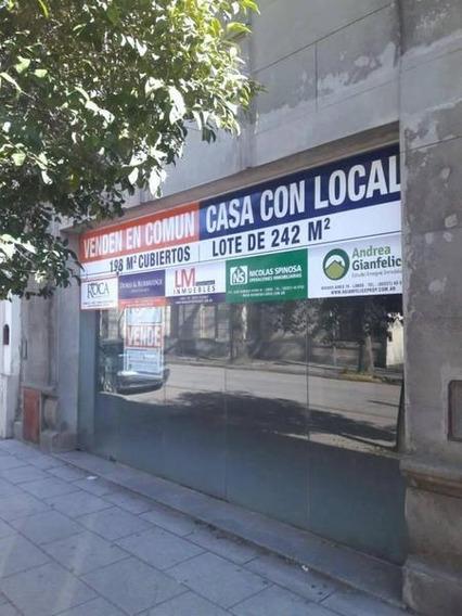 Venta Casa Céntrica Con Local A Metros De La Plaza 1810 Lobos
