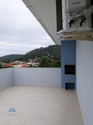 Cobertura Com 2 Dormitórios À Venda, 88 M² Por R$ 370.000,00 - Canasvieiras - Florianópolis/sc - Co0225