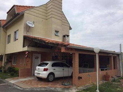 Sobrado C/ 3 Dormitórios À Venda, 142 M² - Portão/santa Quitéria - So0079