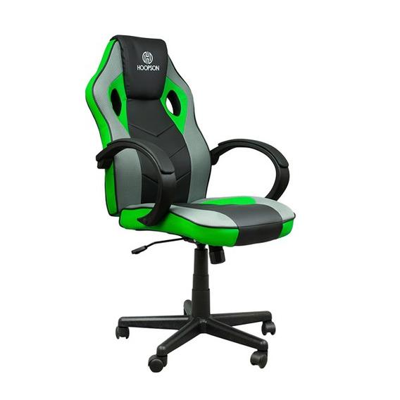 Cadeira Gamer Giratoria - Verde (hp-cg504)