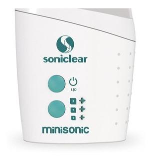 Nebulizador ultrassônico Soniclear Minisonic verde e branco 110V/220V