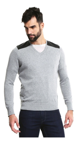 Suéter Marca Guess Para Hombre Cuello V 100% Original