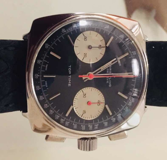 Bretling Top Time - Vintage 1967 - Espetacular E Raro