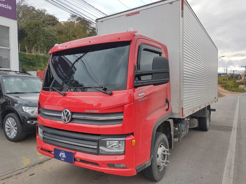 Imagem 1 de 14 de Volkswagen 1180 11 180 4x2 Baú 6,20m Fs Caminhoes