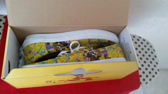 Vans Beatles Yellow Submarines Nuevos