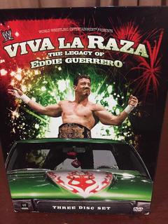 Viva La Raza Legado De Eddie Guerrero Dvd Set 2008