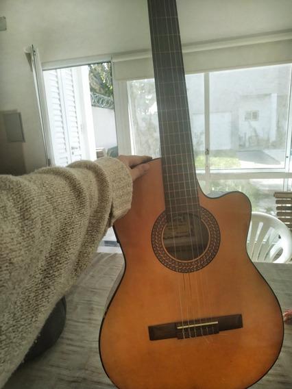 Guitarra Electroacustica Gracia M6eq Con Estuche