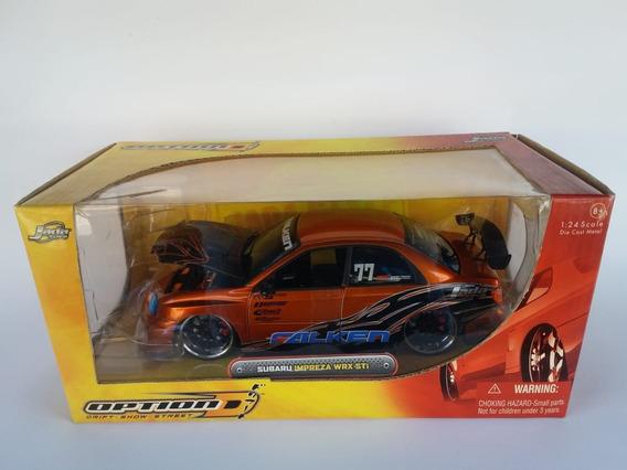 Jada 1/24 Subaro Impreza Wrx Sti Option D - Import Racer