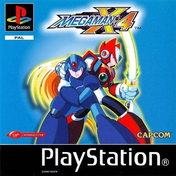 Mega Man X4 Inbox Pacths Playstation Psx Psone Ps1 Pc Ps2*
