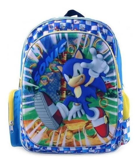 Mochila Sonic Primaria Backpack Tz941