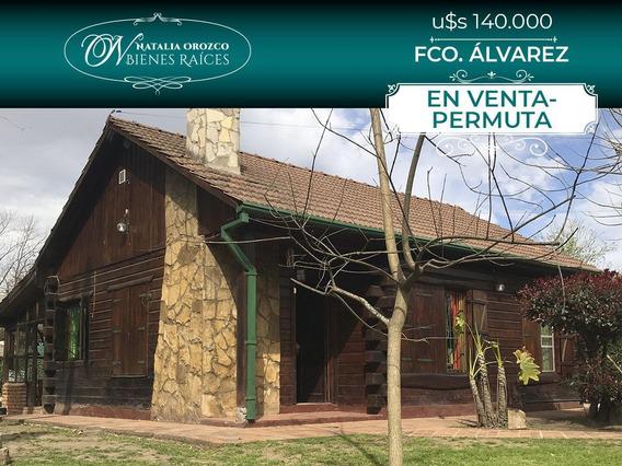 Casa Tipo Cabaña Canadiense - Francisco Alvarez