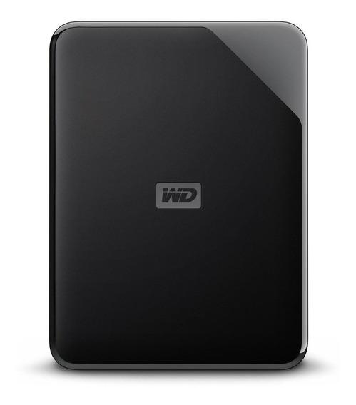 Disco rígido externo Western Digital WD Elements SE WDBEPK0010BBK 1TB preto