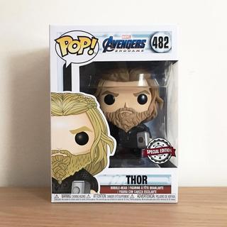 Funko Pop! #482 Thor C/hacha Edic Especial Avengers Original