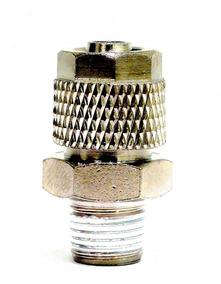 Niple 8mm Dvr Inox Roscado Suspensão A Ar Conexão