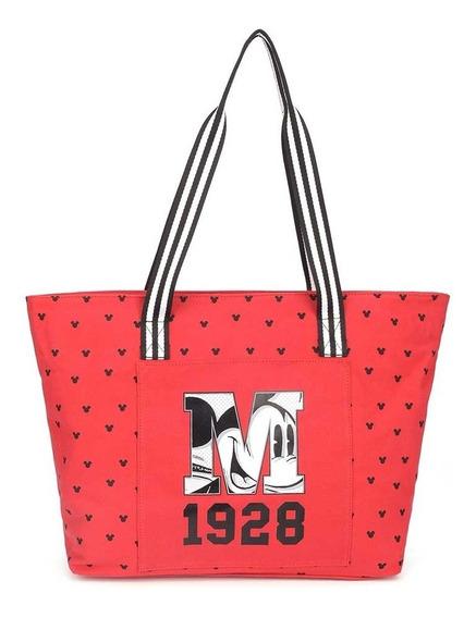 Bolsa De Ombro Mickey Mouse Vermelho 1928 - Original Disney