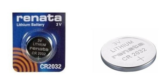 Batería Pila Botón Cr 2032 De Litio 3 V Renata Envío Gratis