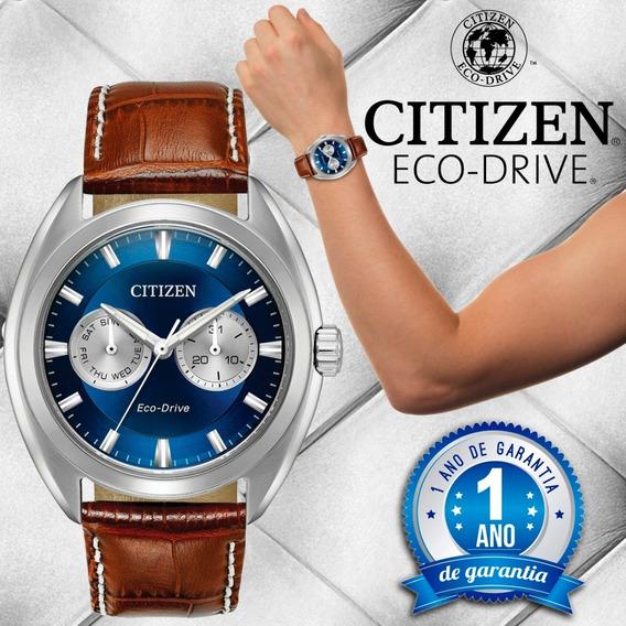 Relógio Citizen Eco Drive Bu4010-05l Tz21027f . 100m . Novo