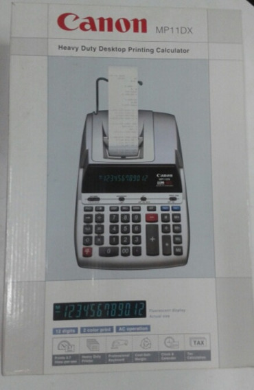 Calculadora Canon Mp11dx 12 Dígitos