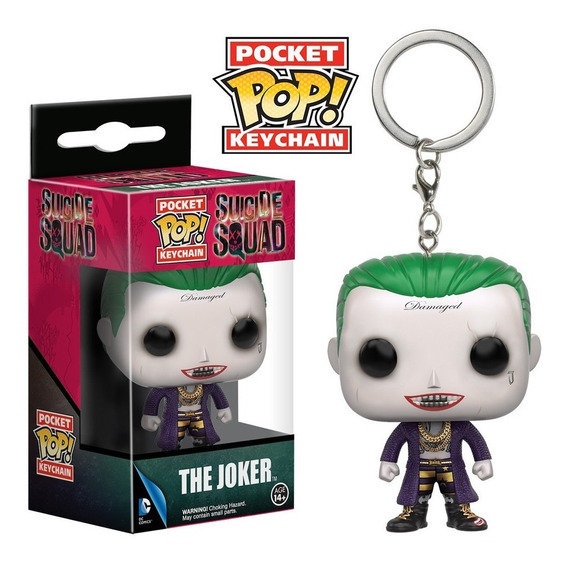 Llavero Funko Pop Joker Guason Pelicula Dc Comics Pocket