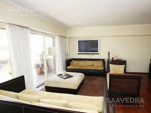 Imagen 1 de 19 de Departamento En Alquiler Con Balcon Y Patio! 4 Amb .dep Y Cochera - Amueblado