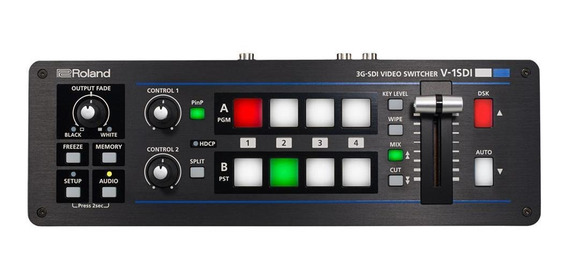Mesa De Vídeo Roland V-1sdi Switcher Com 4 Canais Hd