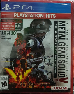Metal Gear Solid V The Definitive Experience Greatest - Ps4