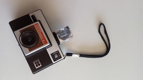 Camara Instamatic X-1 Kodak Antiga Funcionando Ok