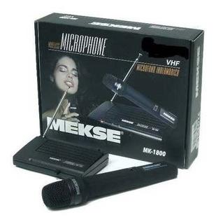 Micrófono Inalámbrico Vhf Mekse Mk1800 -queen Instrumentos-