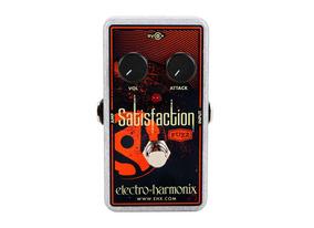 Pedal Distortion Electro Harmonix Satisfaction Nyc Usa