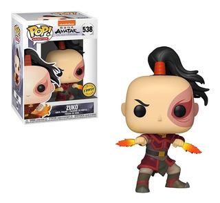 Funko Pop! Avatar: Leyenda De Aang: Zuko (chase) #538
