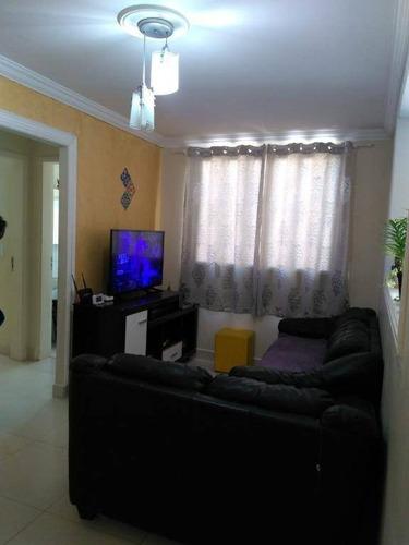 Imagem 1 de 10 de Apartamento Com 2 Dormitórios À Venda, 50 M² Por R$ 220.000,00 - Vila Monte Alegre - Paulínia/sp - Ap19498