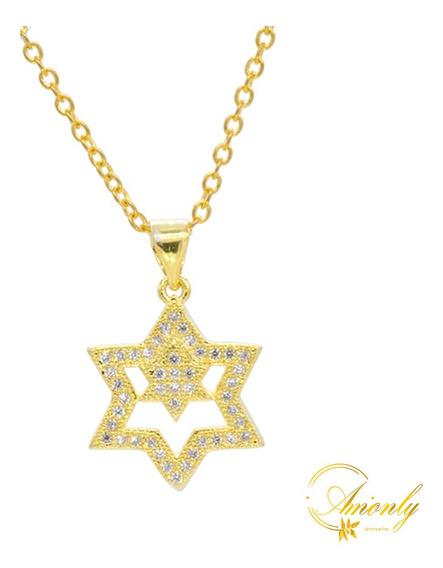 Collar Dije Estrellas Circonia