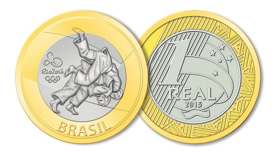 Moeda Comemorativa Rio 2016 De R$1 Olimpiada Kit Com 10