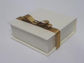 50 Caixas Box Convite 12x12x4 Sem Laço Cabe 4 Bem Casados
