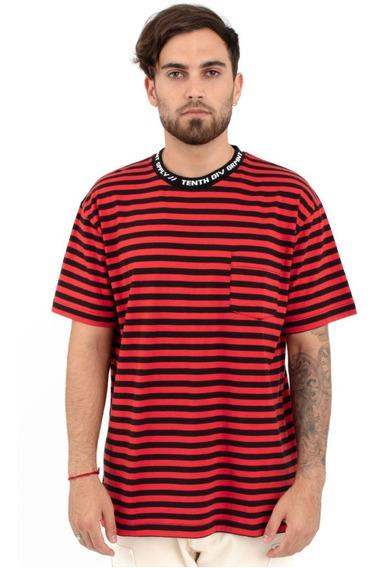 Playera 10deep Foreigner Stripped Shirt Original Huf Obey