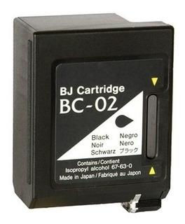 Cartuchos Canon Bc02 Bx3 Vacíos Sin Recarga Seleccionados