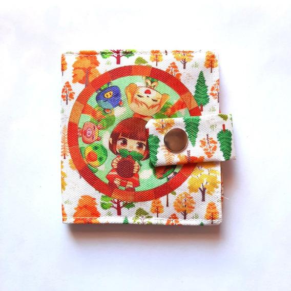 Billetera De Animal Crossing Única Tarjetero Canela