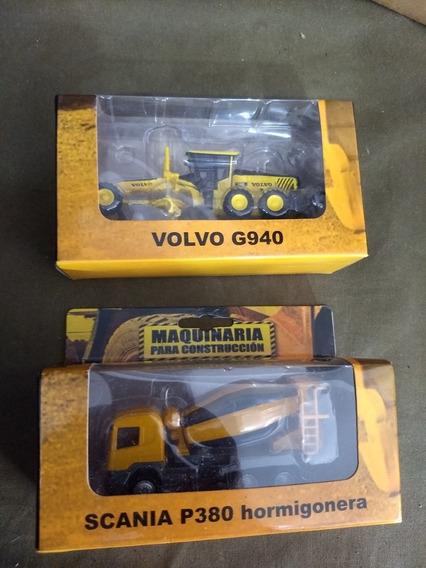 Colección Máquinas De La Construcción X 2 Unidades