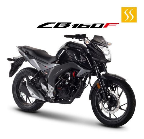 Moto Honda Cb160f 2020 Luces Led Gratis 1 Casco Homologado