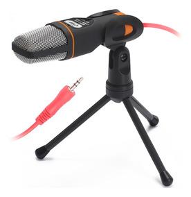 Microfone De Mesa Para Pc P2 Knup Kp-917 Condensador Estudio