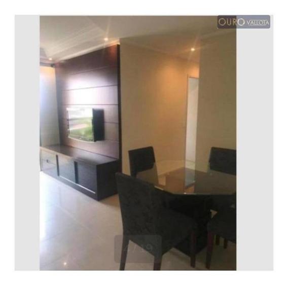 Apartamento Com 2 Dormitórios Para Alugar, 66 M² Por R$ 2.200,00/mês - Tatuapé - São Paulo/sp - Ap1909