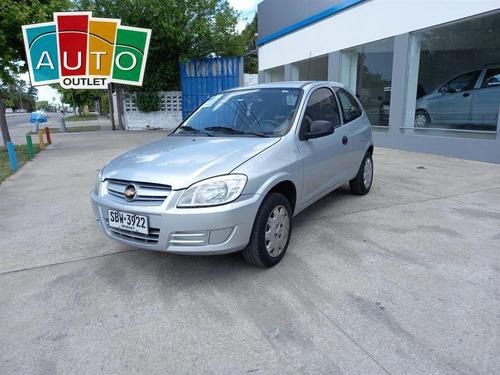 Chevrolet Celta 3 Ptas Base 1.4 2009 Gris Plata 3 Puertas